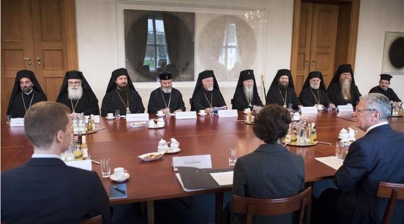 Mitglieder der Orthodoxen Bischofskonferenz besuchen den Bundespräsidenten