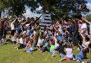 Kinderen en ouders zomer kamp