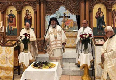 Metropolit Issak feiert die Verklärung des Herrn in Köln