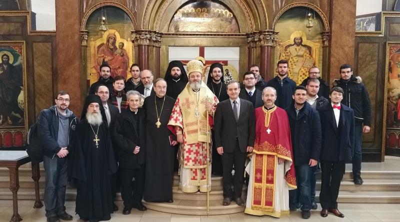 Metropolit Isaak nimmt am Patronatsfest der Fakultät für Orthodoxe Theologie teil