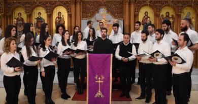 Chor Mutter Gottes, Gesang aus der Fastenzeit