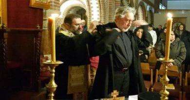 Ipodiakon Sergios Kuckhoff wurde zum Mönch Efrem geweiht