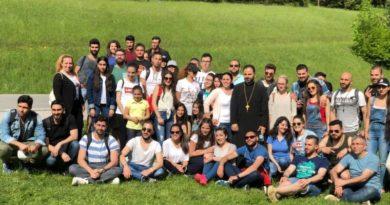 Wiener Gemeinde macht Ausflug zu den Myrawasserfällen