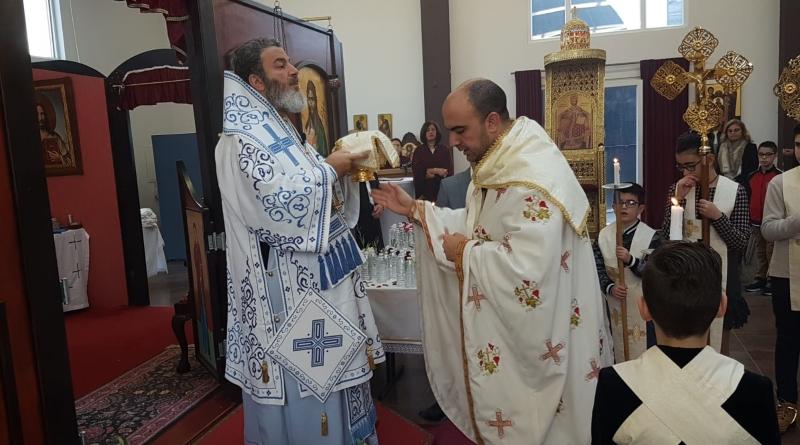 Metropolit Isaak feiert Theophanie in Butzbach