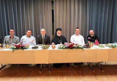 Erzpriesterweihe und Besuch seiner Eminenz Isaak in der Kirchengemeinde St. Georgios Schwenningen