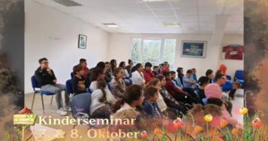 Kinderseminar vom 07.10 – 08.10.2019 in Butzbach