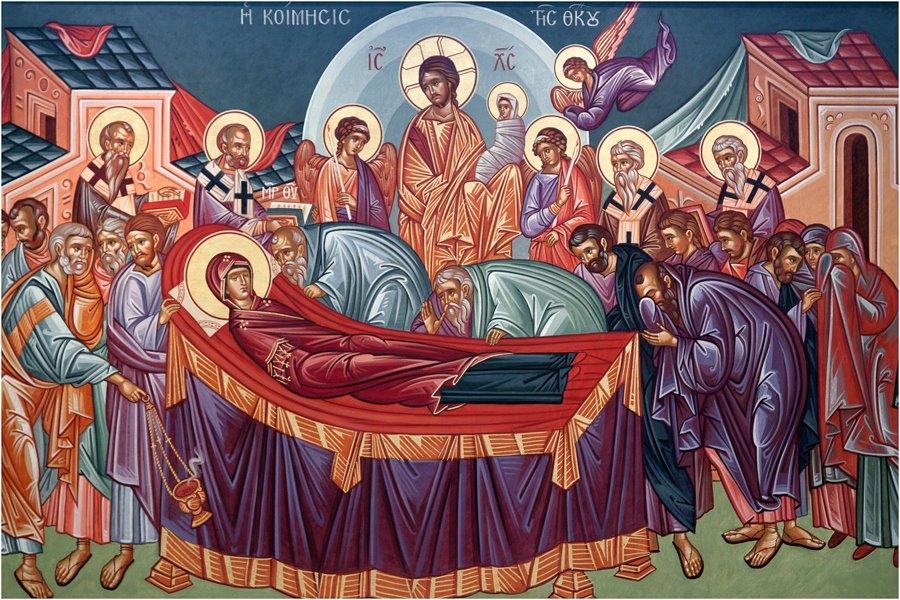 Entschlafung Maria