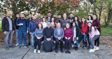 """Jugendlager unter dem Titel """"Meine Kirche""""-Die Gemeinde der Theophanie in Leipzig und Halle"""