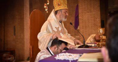 Diakonweihe von Bruder Elie Mousa in der Gemeinde der Verkündigung Münster