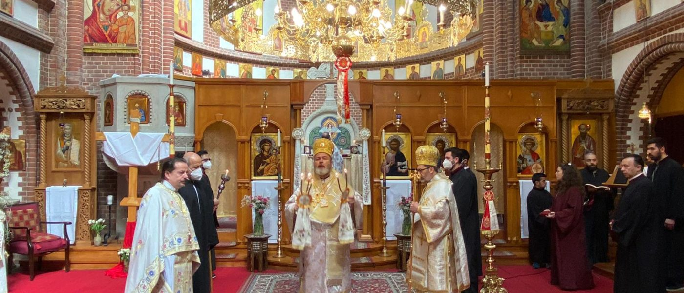 Fest des Heiligen Georgios in Berlin
