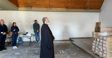 Erstmalige Besichtigung des Nonnenklosters und Zentrum des Patriarchen Ignatius IV.
