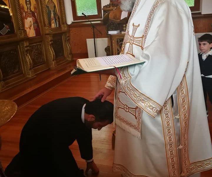 Vater Matthäus Zleik zum Priester geweiht
